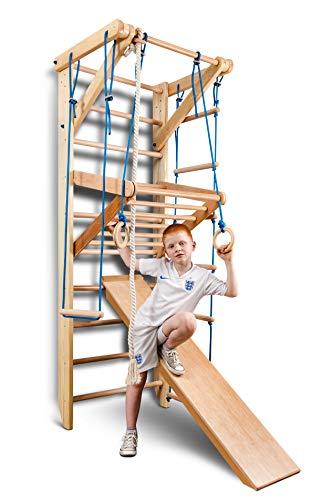 Sportgerät Turnwand Kinder Gym Sport-3-240 Klettergerüst Fitness Kletterwand Holz Sprossenwand mit...