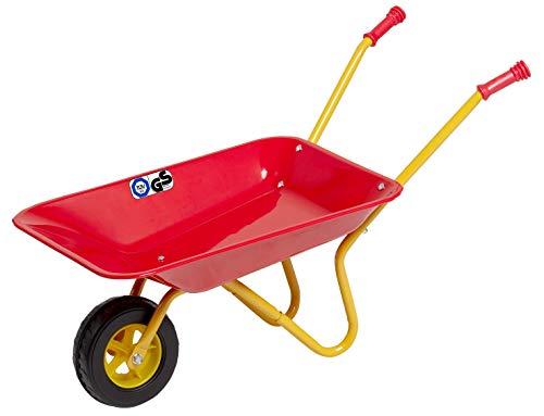 Izzy Schubkarre Kinder ab 2 Jahren Metall Kinderschubkarre für den Garten Kunststoffgriffe belastbar bis...