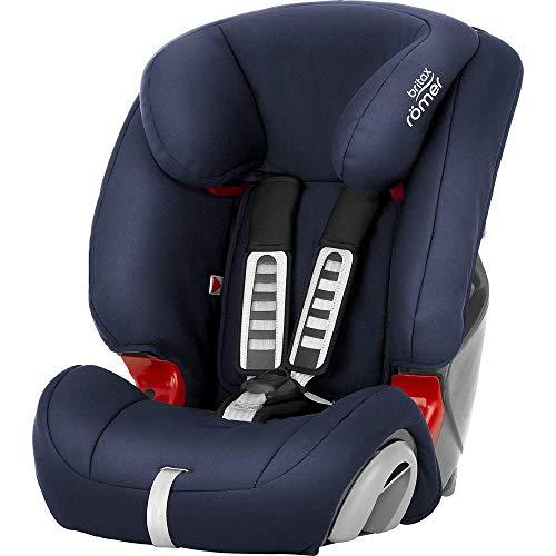 Britax Römer Kindersitz 9 Monate - 12 Jahre I 9 - 36 kg I EVOLVA 123 Autositz Gruppe 1/2/3 I Moonlight...