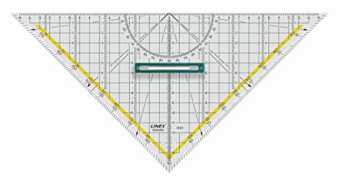 LINEX Geodreieck, 32 cm, mit Griff