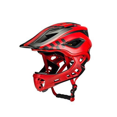 ROCKBROS Fahrrad Kinderhelm Integralhelm Downhill Helm S 48-53cm M 53-58cm für Kinder und Jugend mit...