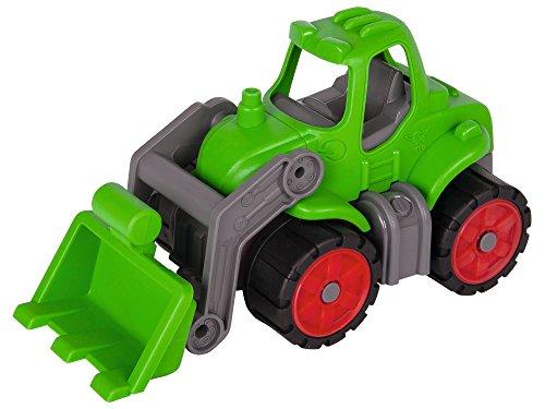 BIG Spielwarenfabrik 800055804 BIG - Power-Worker Mini Traktor - Fahrzeug geeignet als Sandspielzeug und...
