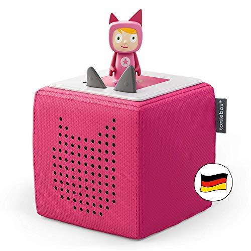 Toniebox Starterset in Pink: Toniebox + Kreativ-Tonie - Der tragbare Lautsprecher für Tonies Hörfiguren...