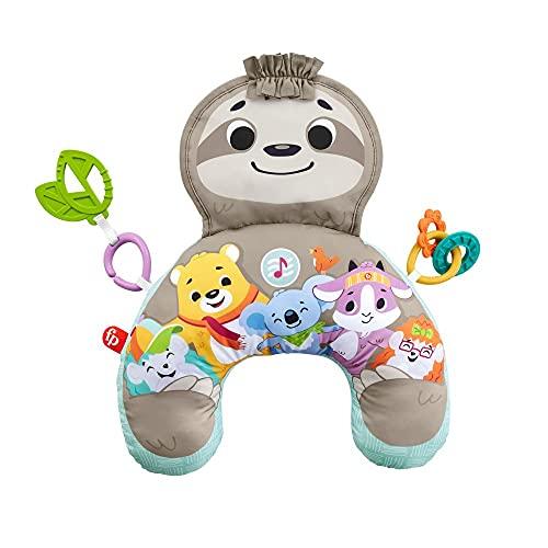 Fisher-Price Spielkissen, Baby Spielzeug mit abnehmbaren Beißringen, Babyausstattung ab der Geburt