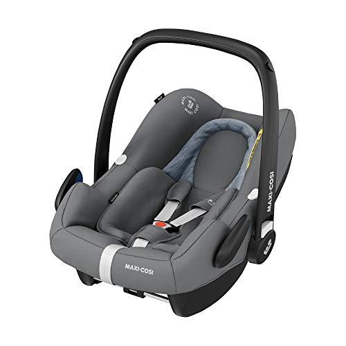 Maxi-Cosi Rock Babyschale, sicherer Gruppe 0+ i-Size Baby-Kindersitz (0-13 kg), nutzbar ab der Geburt bis...