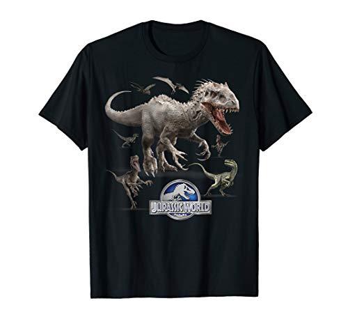 Jurassic World Indominus Rex Raptor Run T-Shirt