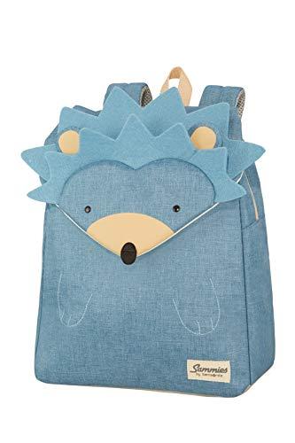 Samsonite Happy Sammies - Kinder-Rucksack S+, 34 cm, 11 L, Blau (Hedgehog Harris)