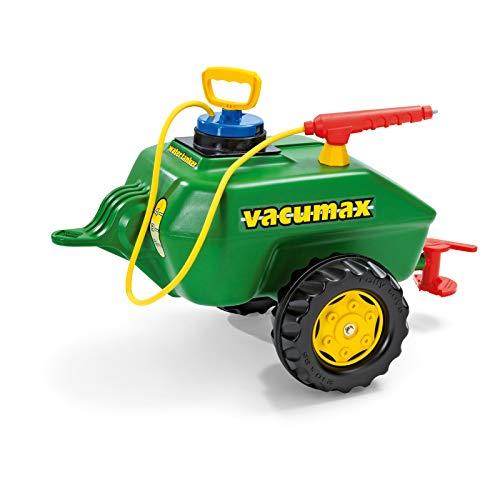 Rolly Toys 122868 - rollyVacumax (für Kinder von 3 bis 10 Jahren, Fassanhänger, Pumpe mit Spritze,...