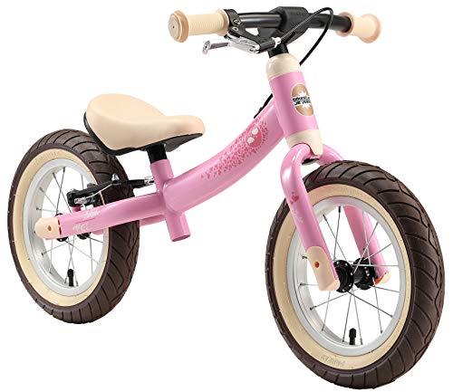 BIKESTAR Kinder Laufrad Lauflernrad Kinderrad für Mädchen ab 3 - 4 Jahre | 12 Zoll Sport Kinderlaufrad...