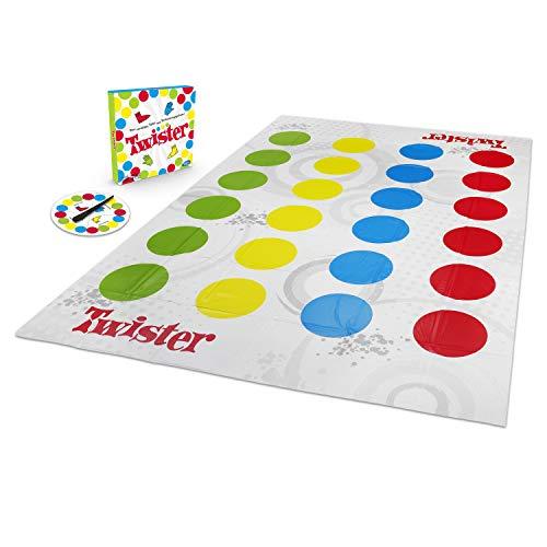 Hasbro Gaming 98831398 Gaming Twister Spiel, Partyspiel für Familien und Kinder, Twister Spiel ab 6...