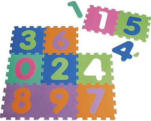 Puzzlematte für Babys mit Zahlen von Playshoes