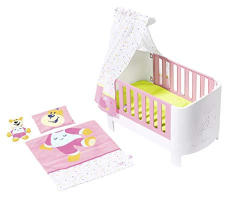 BABY born Sleepwell-Bett für 43cm Puppe - Leicht für Kleine Hände, Kreatives Spiel fördert Empathie &...