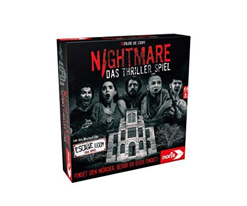 Noris 606101896 - Nightmare - Das Thriller Spiel mit dem speziellen Nervenkitzel für alle...