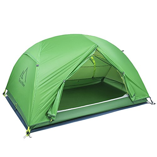 Terra Hiker Ultraleichte Camping Zelte, 2 Personen Kuppelzelt, Wasserdicht Campingzelt, 4000...