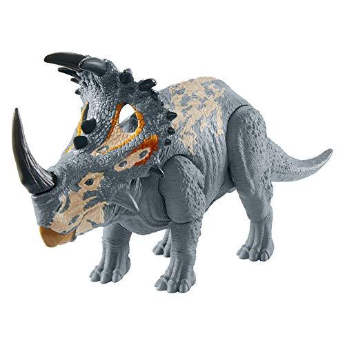 Jurassic World GMC98 Brüll-Attacke Sinoceratops, realistische Angriffsbewegungen und Geräusche,...