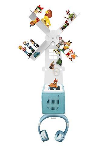 Leckerhelfer automatisch lecker Regal für die Toniebox für über 42 Tonies, Zubehör für die Tonies...