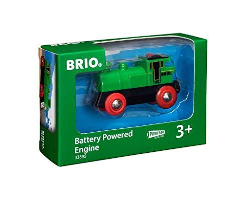 BRIO Bahn 33595 - Speedy Green Batterielok