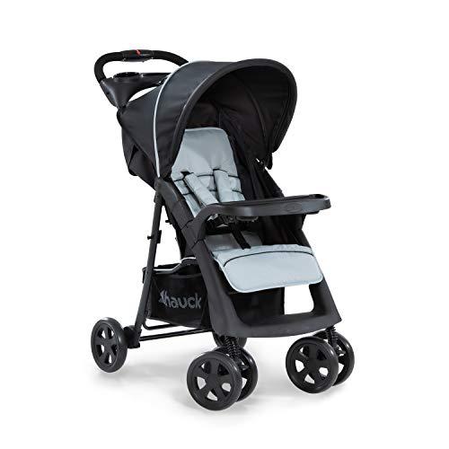 Hauck Shopper Neo II Buggy bis 25 kg mit Liegefunktion ab Geburt, klein zusammenfaltbar,...