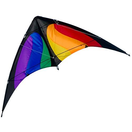 CIM Lenkdrachen - NUNCHAKU MUSTHAVE - Kite für Kinder ab 8 Jahren - Abmessung: 120x60cm - inkl....