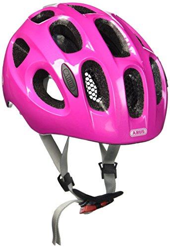 ABUS Youn-I Kinderhelm - Fahrradhelm für Kinder mit LED-Rücklicht für den Alltag - für Mädchen und...