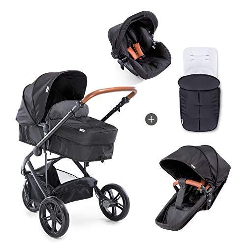Hauck Dreirad Kombi Kinderwagen Pacific 3 Shop N Drive / inkl. Babywanne umbaubar zu Sportsitz / inkl....