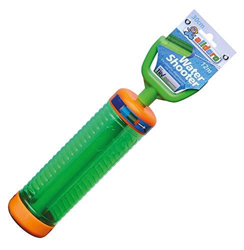 alldoro 60110 Water Shooter, Wasserspritze ca. 30 cm lang, schießt bis zu 12 m weit, Grün