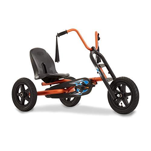 Berg Toys 24.15.00.00 Tretauto mit Optimale Sicherheid Luftreifen und Freilauf Choppy Dreirad Gokart...