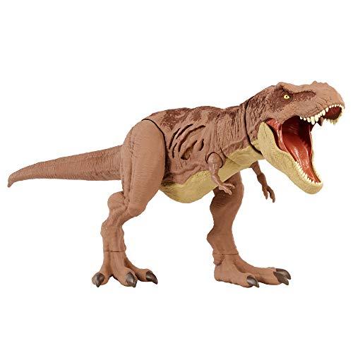 Jurassic World GWN26 - 'Extreme Damage' T-Rex Dinosaurier Spielzeug, Tyrannosaurus Rex, ab 4 Jahren