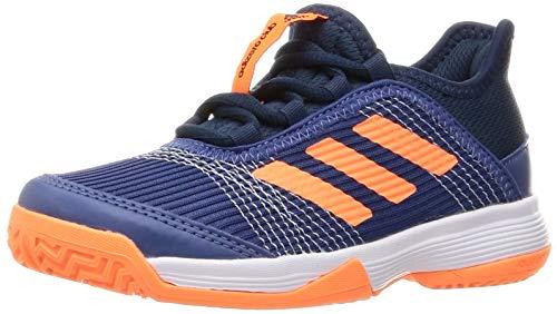 adidas Adizero Club K Tennisschuhe, Unisex, Kinder, 49,3 EU, Mehrfarbig (Azutri Narchi Azmatr), 35 EU