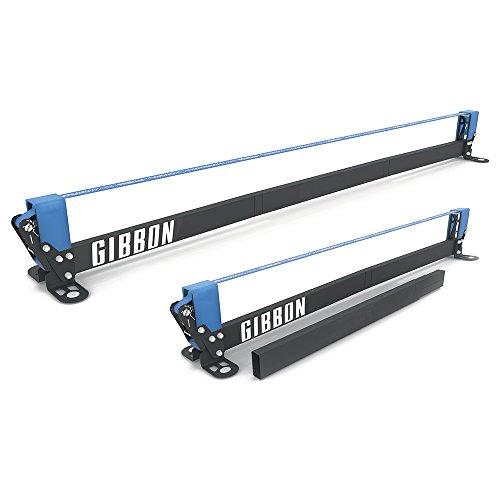Gibbon Slacklines Slackrack Fitness Edition, grau/blau, Aufbaulängen: 2 oder 3 Meter, mit 2 Handgriffen,...
