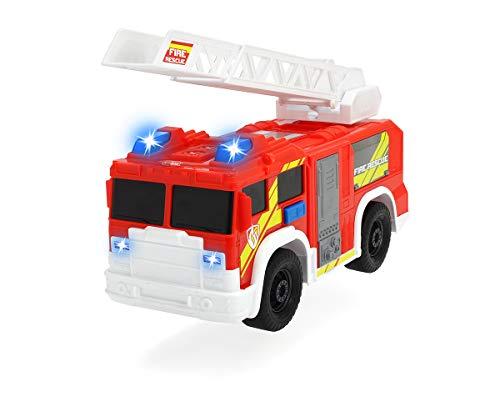 Dickie Toys 203306000 Fire Rescue Unit, Feuerwehrauto, Spielzeugauto, Feuerwehr, bewegliche und...