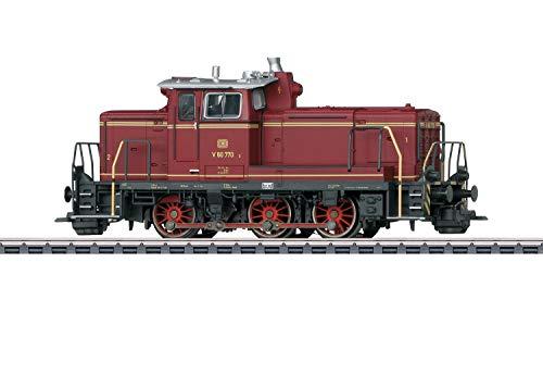 Märklin 37861 Klassiker Modelleisenbahn Diesel-Rangierlok BR V 60 DB, Spur H0