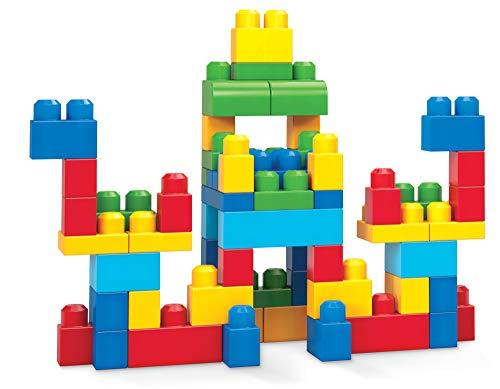 Mattel Mega Bloks First Builders DCH55 - Bausteinebeutel - Medium 60 Teile, bunt