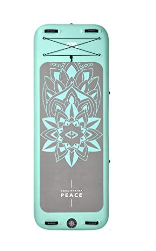 Aquamarina Unisex– Erwachsene Sup Frieden-Yoga Tabelle, Blau/Grau, Uni