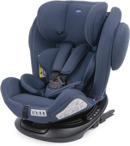 Chicco Unico Plus Auto Kindersitz 360° Drehbar 0-36 kg ISOFIX, Verstellbarer Kindersitz Gruppe 0-3 von...