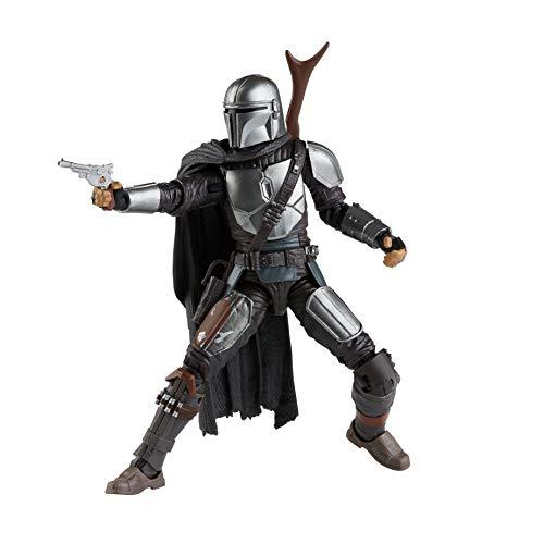 Star Wars The Black Series The Mandalorian 15 cm große Action-Figur zum Sammeln, Spielzeug für Kids ab...