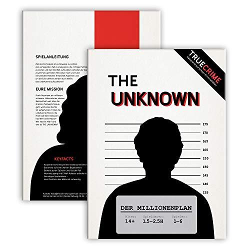 The Unknown Fall 1 – der Millionenplan, Krimi Escape Room Game – Tatort Spiel für Erwachsene und...
