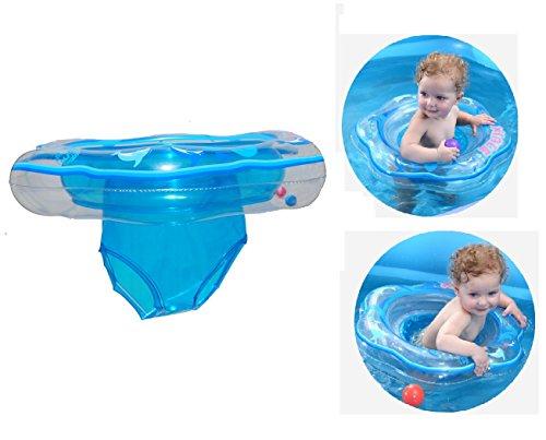 Baby Schwimmring, Schwimmsitz für Baby Aufblasbarer Schwimmtrainer Schwimmhilfe Schwimmreifen für...