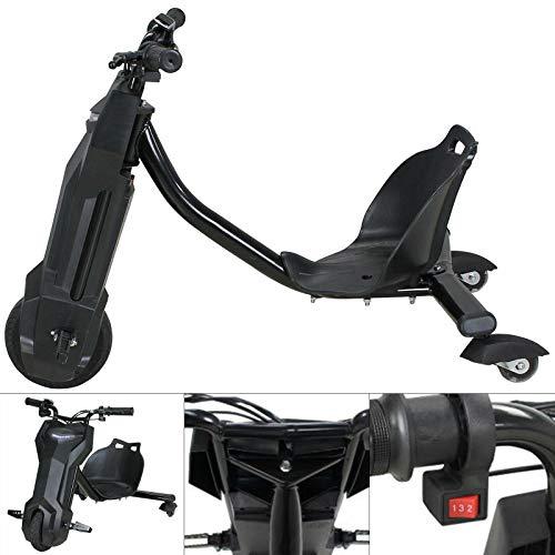 250W Elektro Driftscooter,360° Kinder Drift Trike,Drift Scooter E-Scooter Drifting Go-Kart Dreirad Trike...