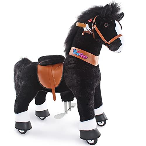 PonyCycle Offizielles authentisches Reitspielzeug für Kleinkinder (mit Bremse und Sound/ 97 cm Höhe/ U4...