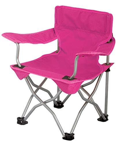 Eurotrail Campingstuhl für Kinder, faltbar, Pink, 54 x 35 x 30 cm