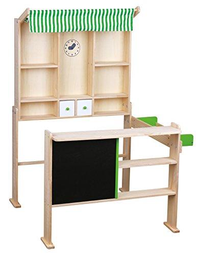 VEDES Großhandel - Ware 45007511 Beeboo Kaufladen hellgrün/weiß, 74x68x97cm