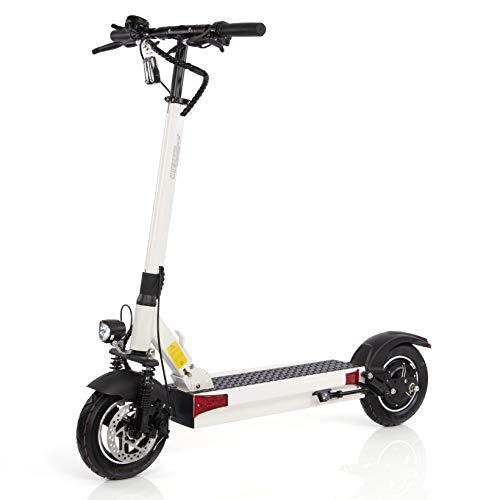 Wizzard Elektro City Scooter 2.5 Plus - 500 W Motor - 100 Km Reichweite - 40 Km/h - (White)