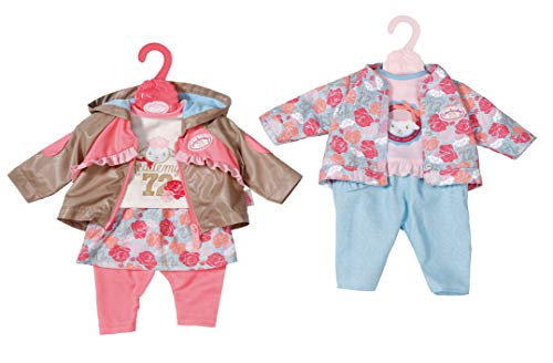 Baby Annabell 701973 Active Jeans 43cm, 2 assorted