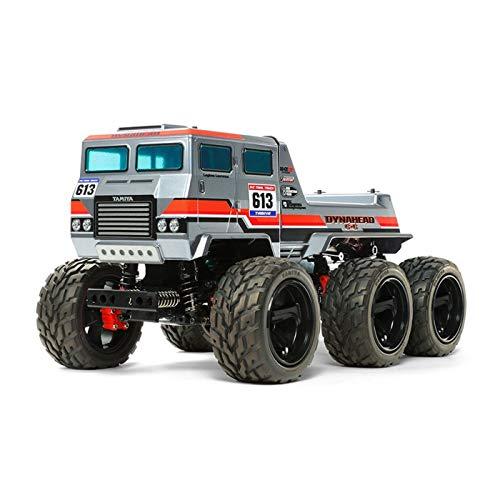 TAMIYA 58660 - 1:18 RC Dynahead 6x6 (G6-01TR), ferngesteuertes Auto/ Fahrzeug, Modellbau, Bausatz, Hobby,...