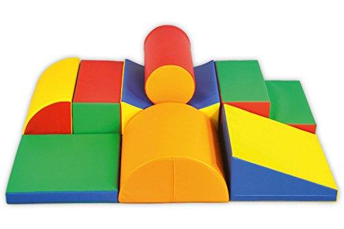 XL Softbausteine Riesenbausteine Schaumstoffbausteine Großbausteine 8 Stück
