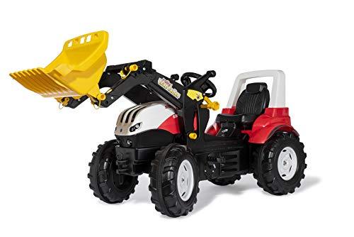 Rolly Toys 710041 rollyFarmtrac Trettraktor Steyr 6300 Terrus CVT (inkl. rollyTrac Lader, 3-8 Jahre,...