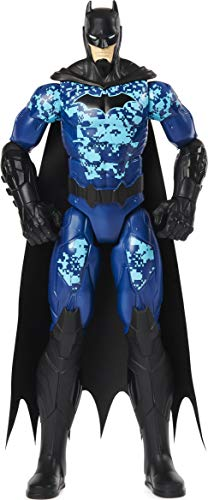 BATMAN 6060343 12-inch Bat-Tech Tactical Action Figure (Blue Suit), for Kids Aged 3 and up Actionfigur,...
