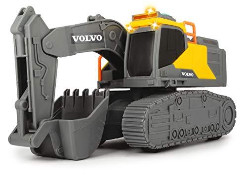 Dickie Toys QDKT062056 Volvo Kettenbagger, Schaufelbagger, Bagger, Spielzeug Bagger, Sandkasten,...