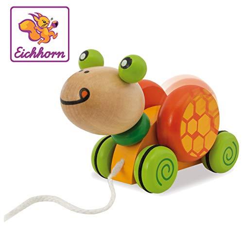 Eichhorn 100005553' Nachziehtier, Schildkröte Spielzeug, Bunt